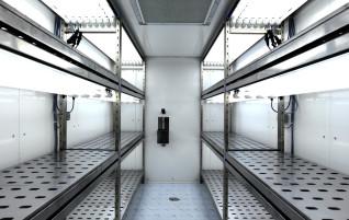 Walk-in chambers
